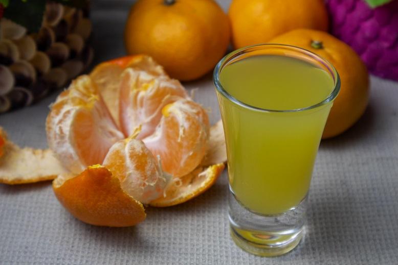 фото домашней наливки из мандаринов
