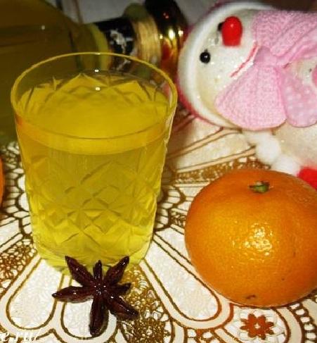 фото мандариновой наливки в домашних условиях