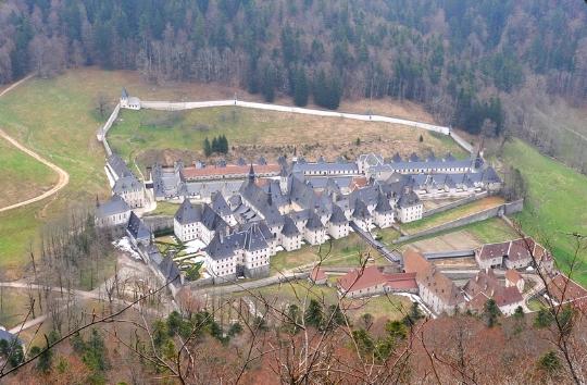 фото монастыря Гранд Шартрез