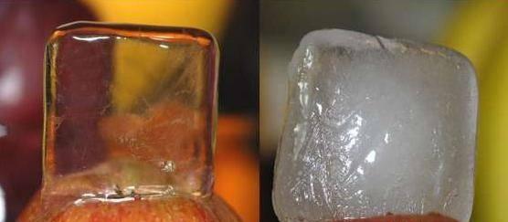 приготовление льда дома