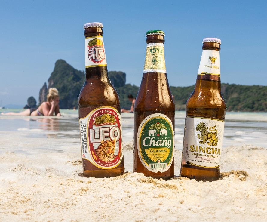 фото тайских марок пива
