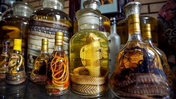 фото тайского спиртного со змеями