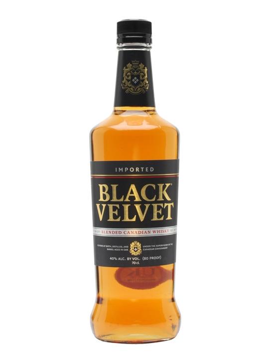 виски из канады Блек Вельвет фото