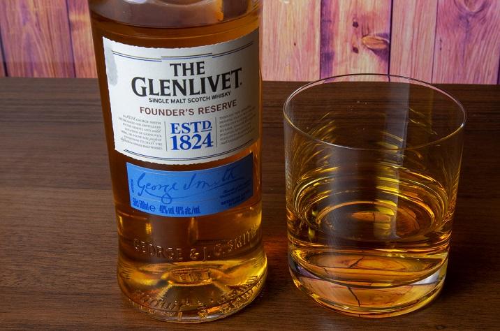 фото бутылки виски Glenlivet
