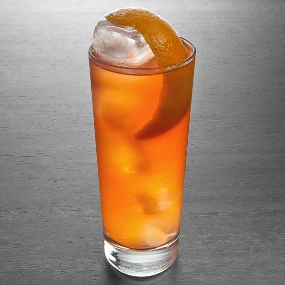 домашний коктейль Гарибальди фото