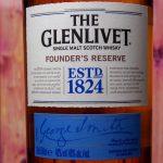 фото этикетки виски Glenlivet