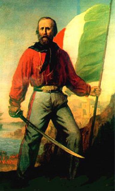 Джузеппе Гарибальди фото