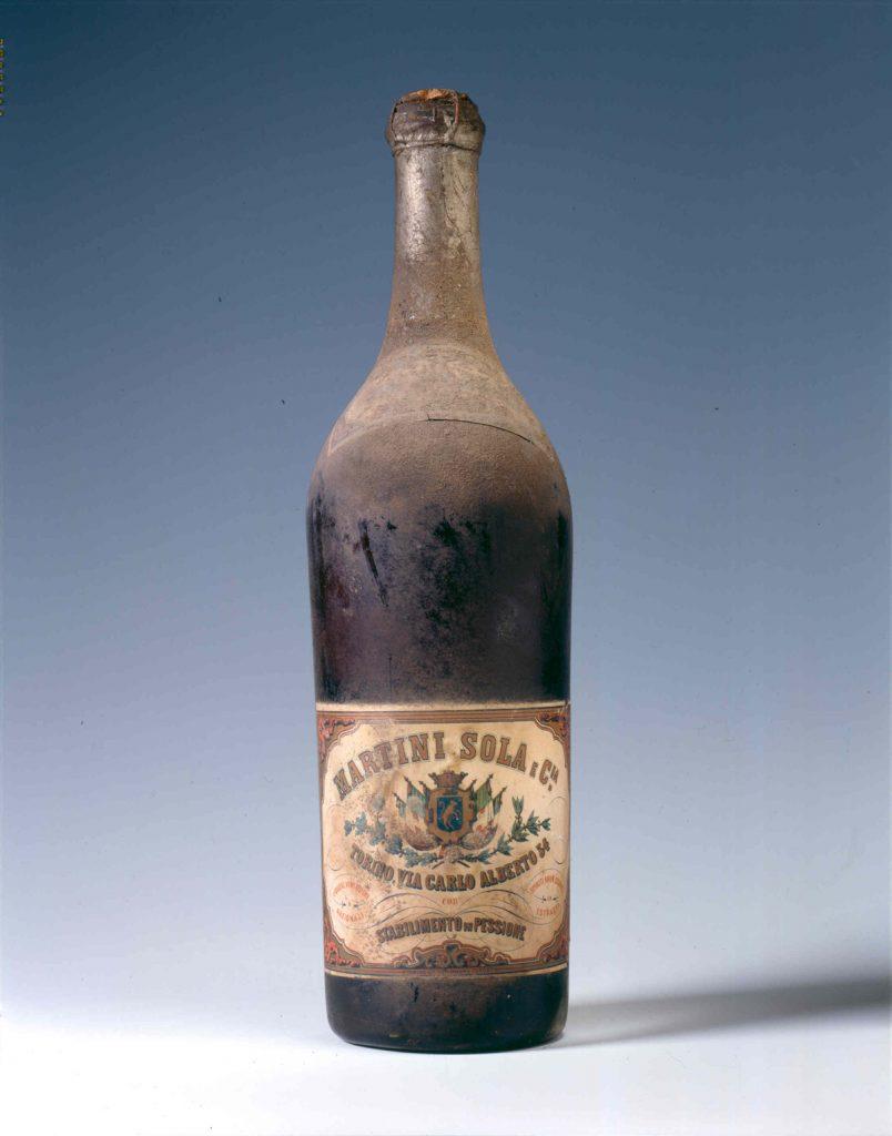 фото первой бутылки мартини россо
