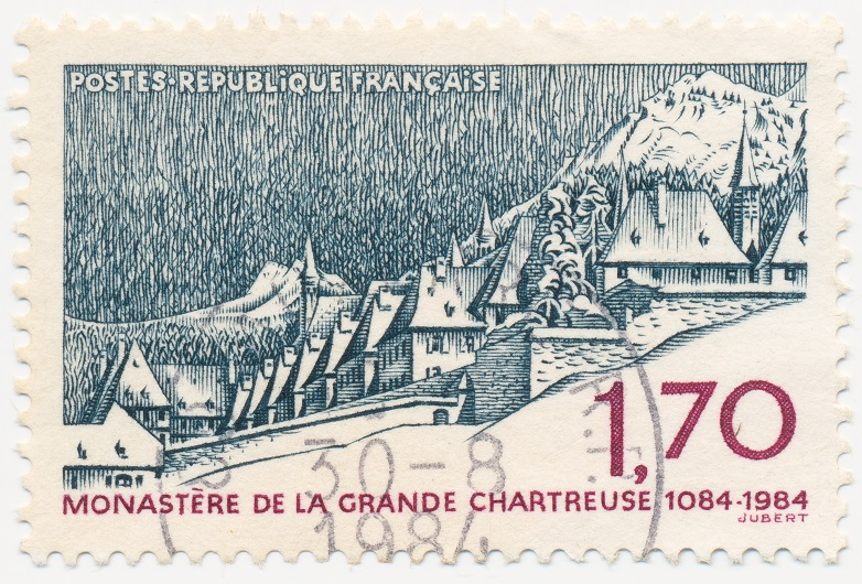 рисунок монастыря Гранд Шартрез