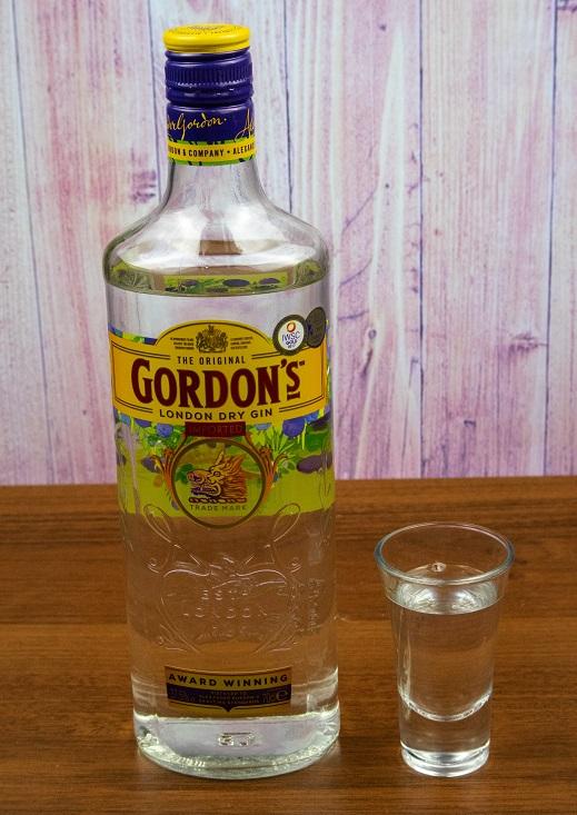 фото бутылки джина Гордонс