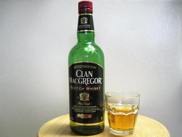 фото бутылки с виски Клан МакГрегор