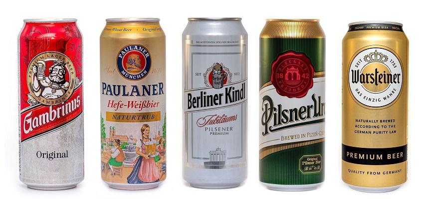 извесные марки немецкого пива