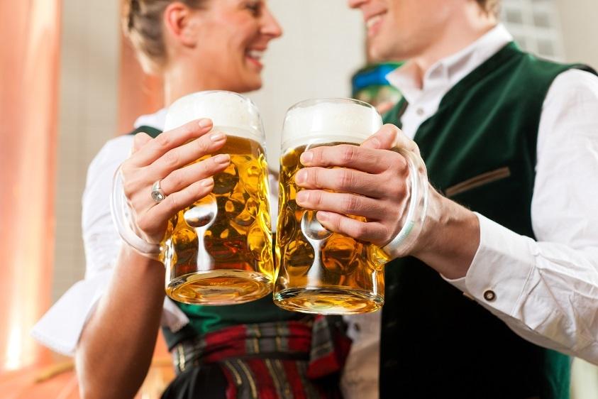 как пить немецкое пиво