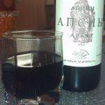 полусладкое красное вино апсны фото