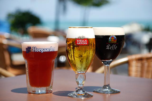 фото трех лучших марок бельгийского пива