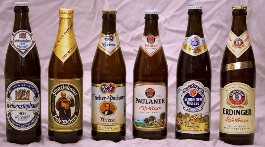 фото популярных марок немецкого пива
