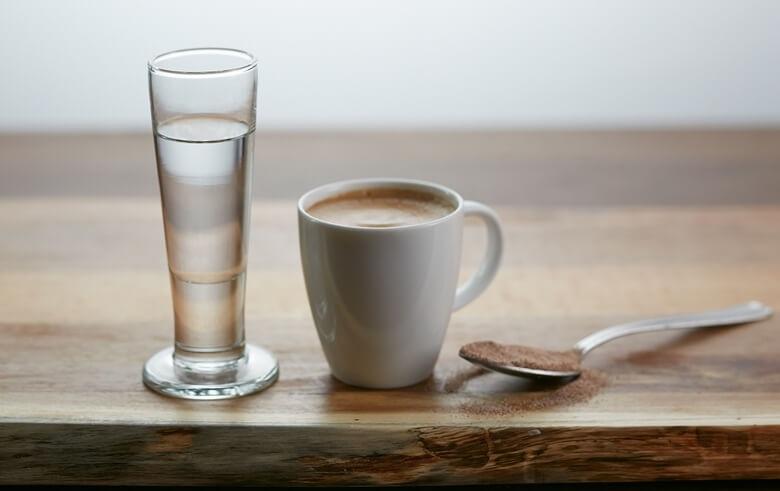фото самбуки с кофе