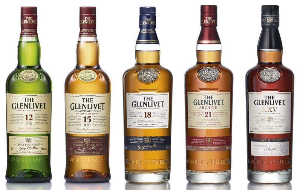 виды виски Glenlivet