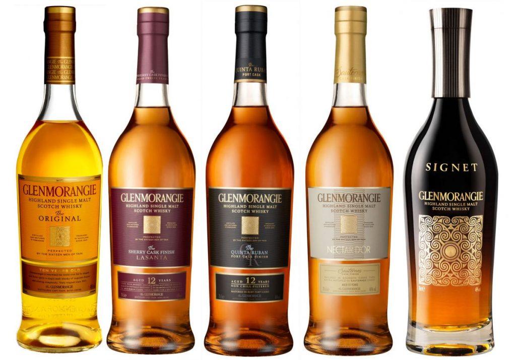 виды виски Glenmorangie