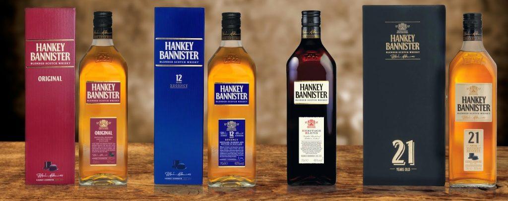 виды виски Hankey Bannister фото