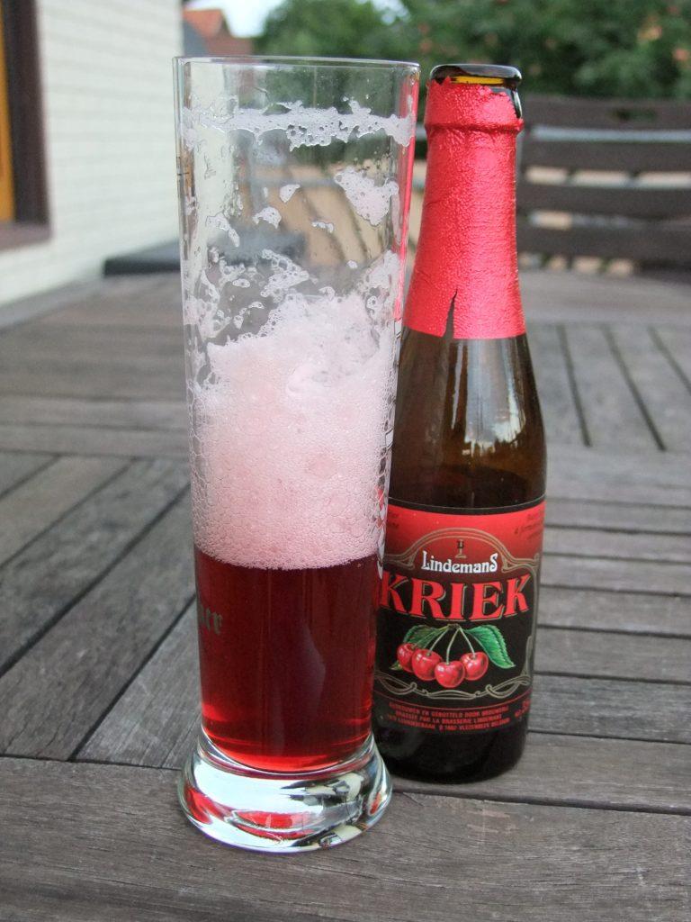 фото вишневого бельгийского пива