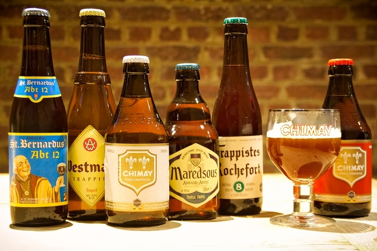 фото бельгийского траппистского пива