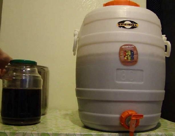 фото карбонизации пива суслом
