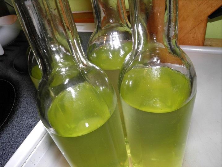 фото настойки водки на лайме