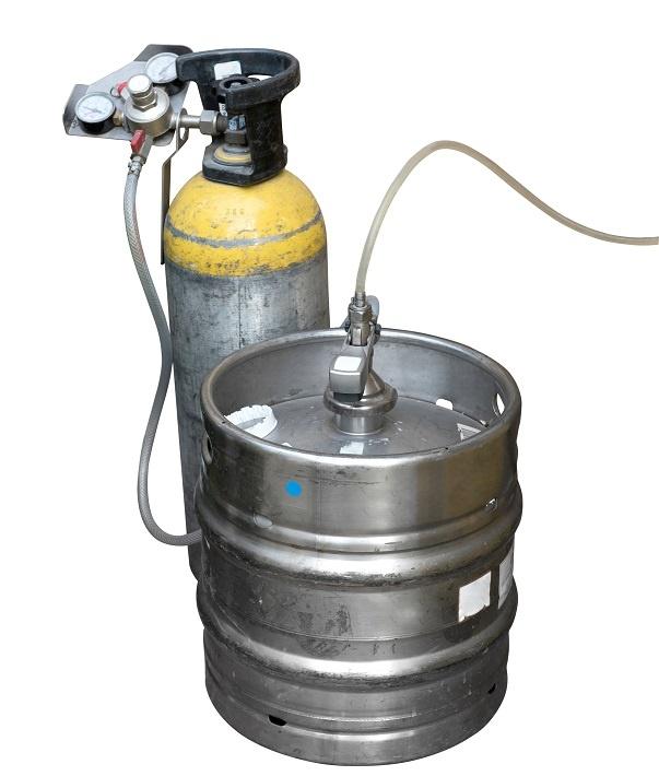 насыщение пива углекислым газом