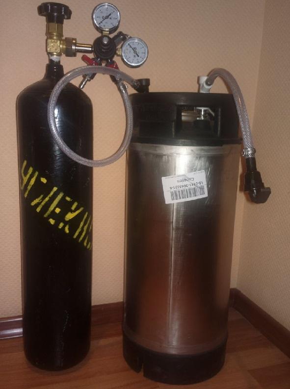 фото принудительной карбонизации пива