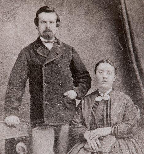 фото Уильма Гранта с женой