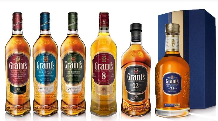 фото видов шотландского виски Грантс