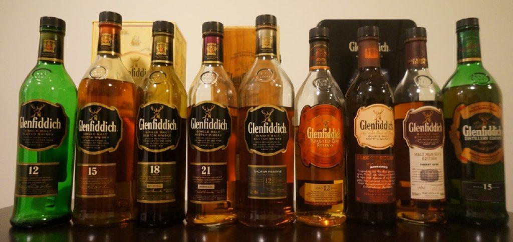 виды виски Glenfiddich