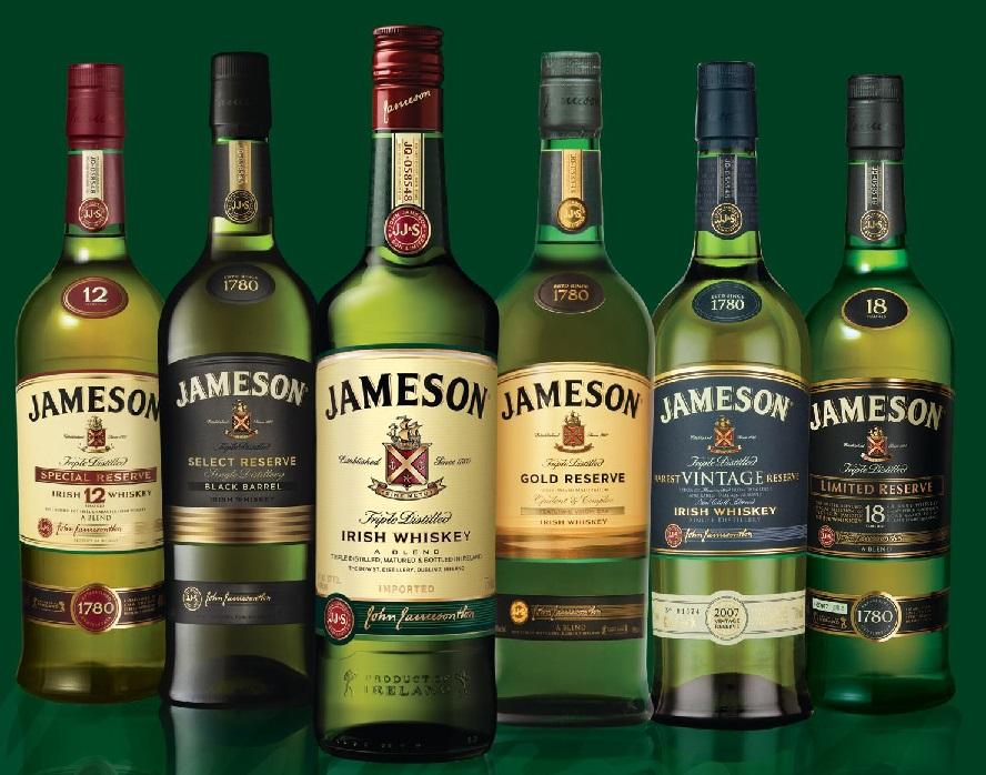 виды виски Джемесон