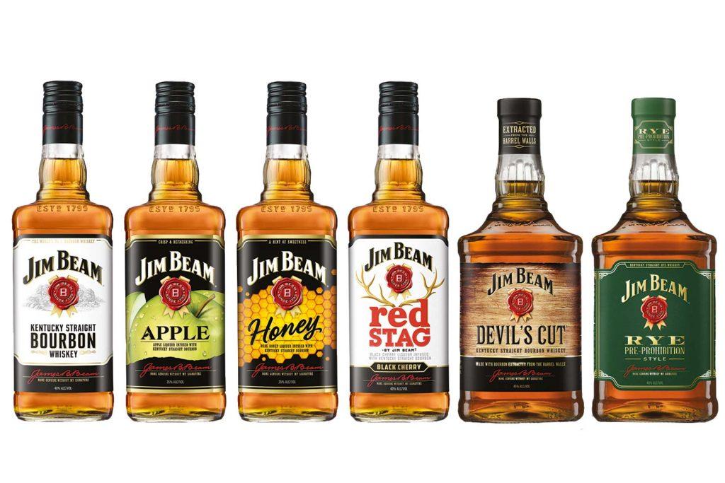 виды виски Джим Бим