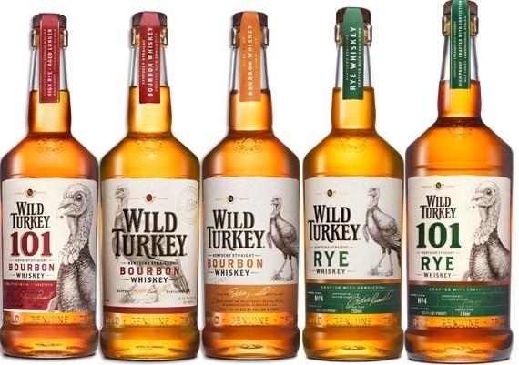 виды виски Wild Turkey фото