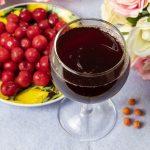 вишневое вино с косточками