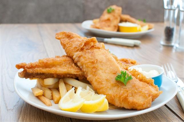 фото закуски для джина из чипсов и рыбы