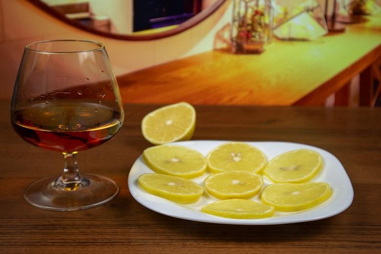 диета с коньяком и лимоном