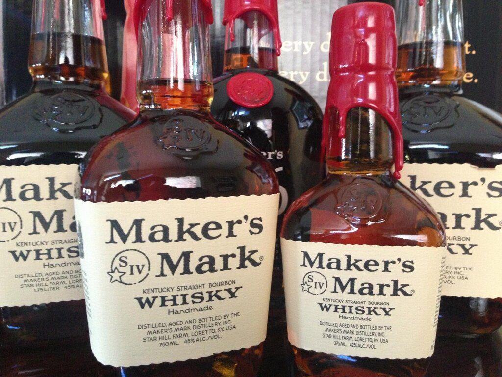 фото дизайна бутылки Мэйкерс Марк