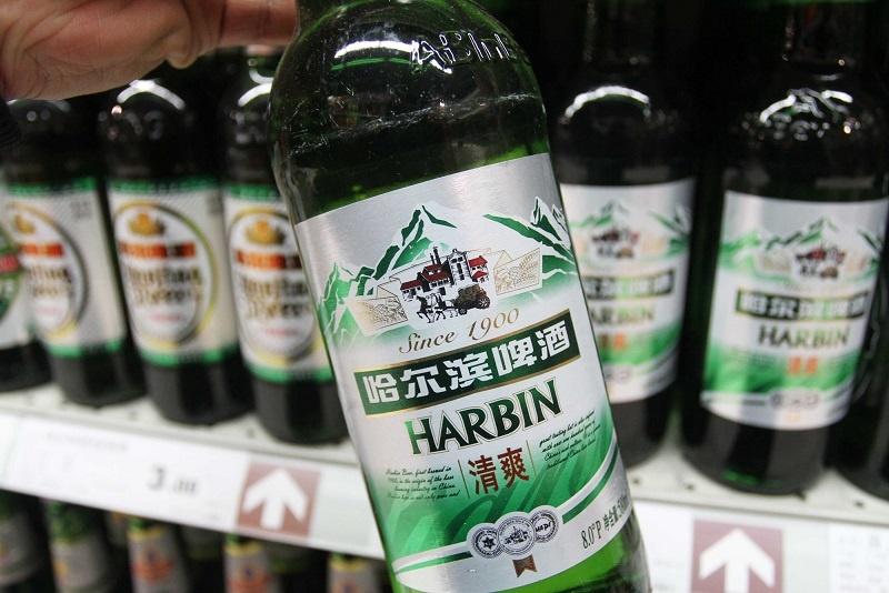 марка китайского пива Harbin