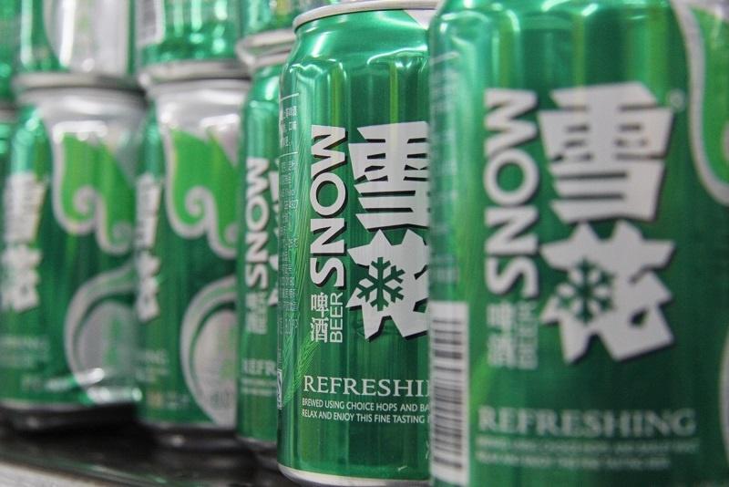 марка китайского пива Snow