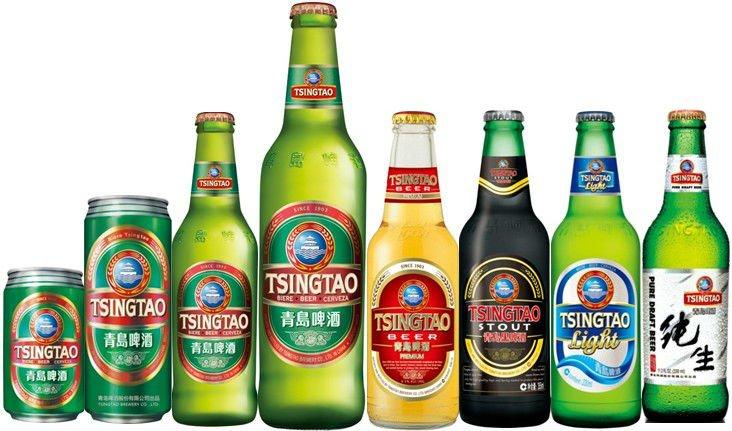 фото китайского пива Tsingtao