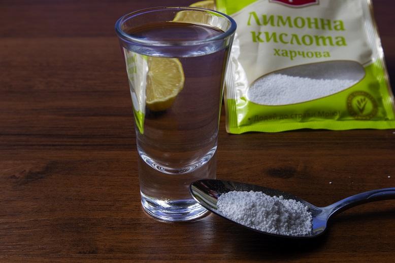 как смягчить самогон лимонной кислотой