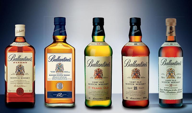 виды виски Баллантайнс