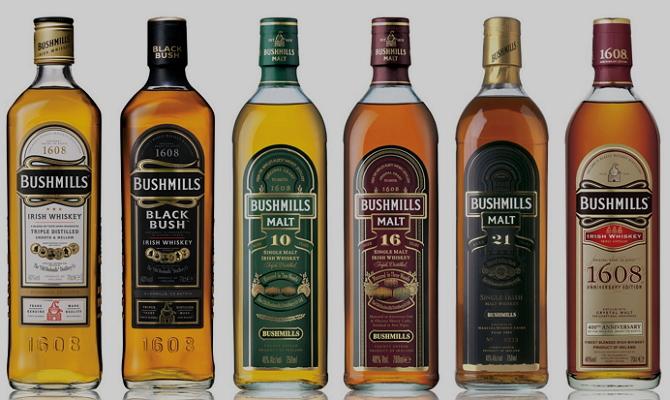 фото видов виски Bushmills