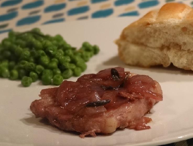 фото свинины в красном вине, запеченной в духовке