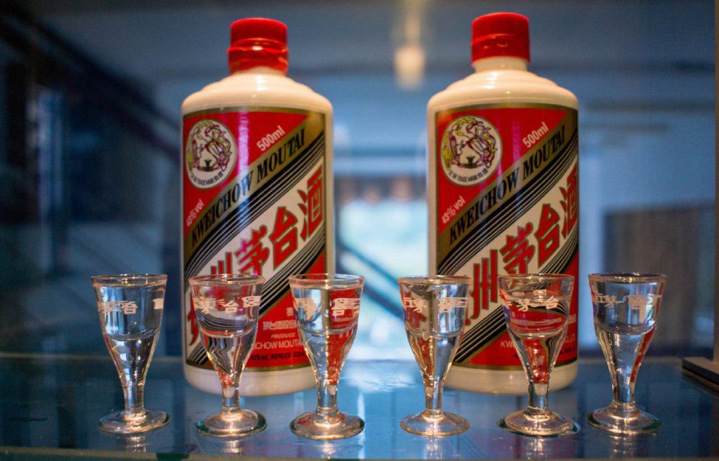 фото китайской водки Маотай