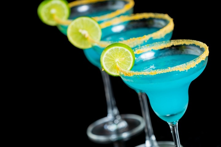 фото коктейля Голубая Маргарита