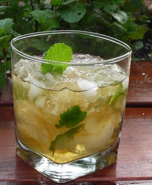 фото коктейля мятный джулеп